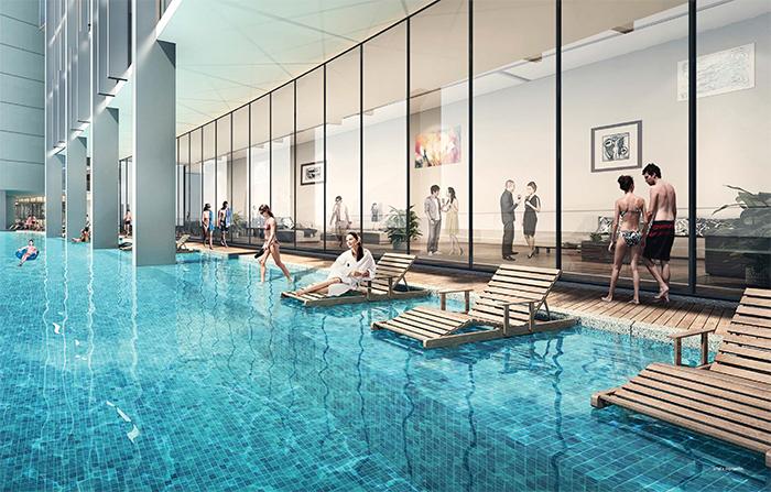 Cambodia Bridge Project Oxley-WorldBridge Swimimng Pool