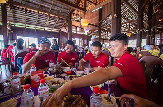 Charity and annual trip of WorldBridge Group Family to Siem Reap 2018