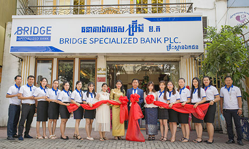 Grand Opening Bridge Specialized Bank